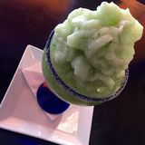 Cucumber mint daiquiri. Delicious tall drink that will freshen u up so fresh with vodka Stock Image