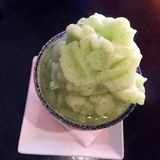 Cucumber mint daiquiri. Delicious tall drink that will freshen u up so fresh with vodka Stock Photos