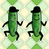 Cucumber Party Royalty Free Stock Images