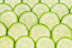 Cucumber pattern Royalty Free Stock Photos
