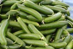Cucumber Pattern Stock Image