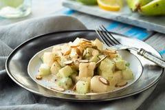 Cucumber Pear Salad Stock Photos