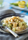 Cucumber Pear Salad Royalty Free Stock Image