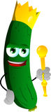 Cucumber or pickle king Stock Photography
