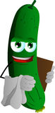 Cucumber or pickle waiter Stock Photo