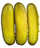 Cucumber pickles sliced Royalty Free Stock Photography