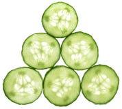 Cucumber Pyramid Royalty Free Stock Photo