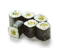 Cucumber Roll Royalty Free Stock Photography