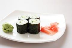 Cucumber rolls Stock Image