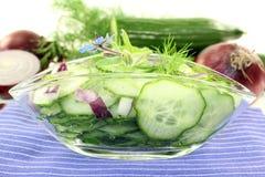 Cucumber salad Stock Photo