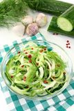 Cucumber salad Stock Photos