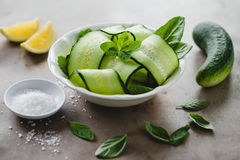 Cucumber salad Royalty Free Stock Photography