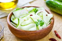 Cucumber salad Royalty Free Stock Photos