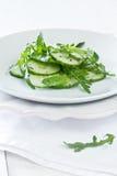 Cucumber salad with herbs Stock Photos