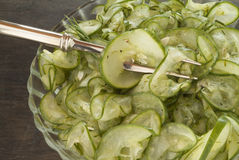 Cucumber Salad Royalty Free Stock Images