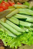 Cucumber salad Stock Photography