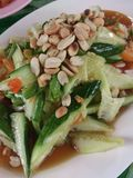 Cucumber Salad Stock Photography