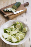 Cucumber salad Royalty Free Stock Photos