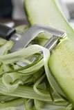 Cucumber Shavings Stock Photo