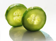 Cucumber slice Royalty Free Stock Photo