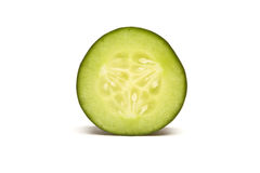 Cucumber Slice Stock Photo