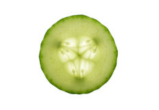 Cucumber Slice Stock Photography