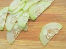 Cucumber slice. Close up of cucumber slice Stock Images