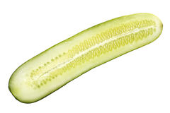 Cucumber slice Stock Image