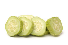 Cucumber slice Stock Images