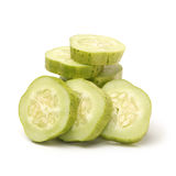 Cucumber slice Royalty Free Stock Photos