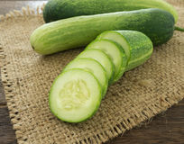cucumber slice Royalty Free Stock Image