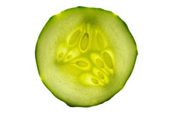 Cucumber sliced Stock Photo