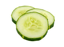 Cucumber sliced Royalty Free Stock Photo