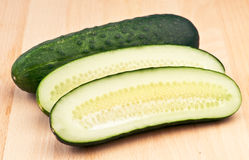 Cucumber sliced Royalty Free Stock Image