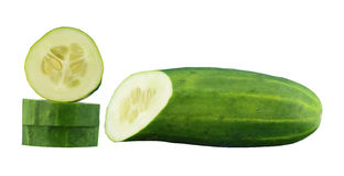 Cucumber sliced stock photography