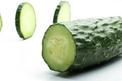Cucumber sliced Stock Image