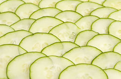 Cucumber slices Royalty Free Stock Images