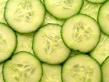 Cucumber slices Stock Photo