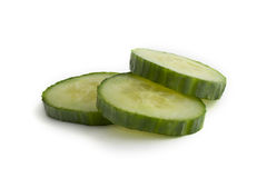 Cucumber Slices Royalty Free Stock Image