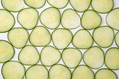 Cucumber slices background Stock Image