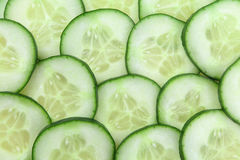 Cucumber slices background Royalty Free Stock Photo