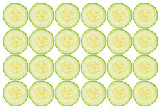 Cucumber slices background Stock Photo