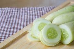 Cucumber slices Stock Photos