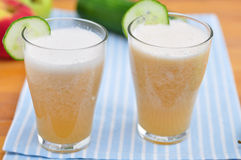 Cucumber Smoothie Stock Image