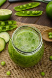Cucumber smoothie Stock Photo