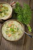 Cucumber soup Stock Photos