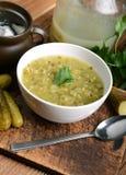 Cucumber soup Royalty Free Stock Photos