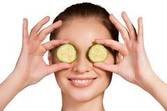 Cucumber spa. Royalty Free Stock Image