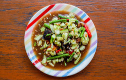 Cucumber spicy salad Royalty Free Stock Photos