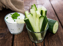 Cucumber Sticks Royalty Free Stock Images